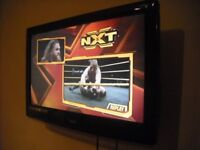 """Logic 30"""" wall mounted TV/DVD player in excellent condition"""