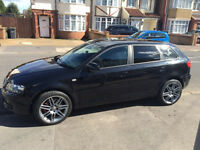 2008 AUDI A3 2.0 TDI SPORTBACK 5 DOOR MANUAL 170BHP EXCELLENT CONDITION