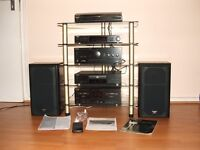 Techinics HiFi Separate System With Turntable Amazing Sound