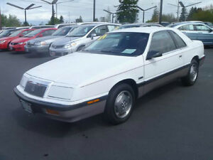 Wanted: 1987-1992 Chrysler Lebaron Coupe (2 door)