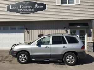 2005 Hyundai Santa Fe GLS-Leather, Sunroof, 4x4, LOW KM!!