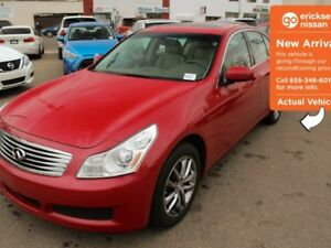 2007 Infiniti G35x G35x - AWD, LEATHER, SUNROOF!