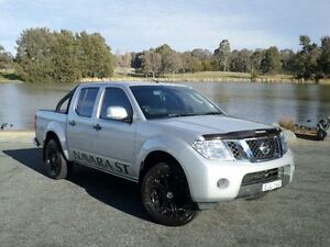 2012 Nissan Navara D40 MY12 ST (4x4) Silver 5 Speed Automatic Dual Cab Pick-up Belconnen Belconnen Area Preview