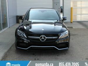 2016 Mercedes-Benz C-Class AMG C63 S CHROME PKG 3M RED INT 1 OWN