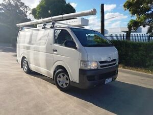 2009 Toyota Hiace KDH201R MY07 Upgrade LWB White 5 Speed Manual Van Moorebank Liverpool Area Preview