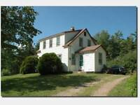 Lakefront, Farmhouse, 22.5 acre with mixed wood