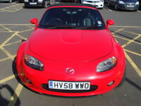 REDUCED!! MAZDA MX-5 2008 1.8 LOW MILEAGE IN GOOD CONDITION
