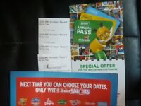 TWO OR FOUR LEGOLAND TICKETS FOR FRIDAY 13TH JULY 2018 ADMITS ADULT OR CHILD