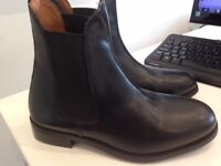 Ladies black chelsea boots - size 5 - brand new RRP £35