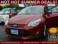 2012 Ford Focus SEL, $46/Weekly