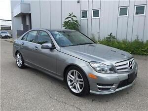 2012 MERCEDES BENZ C250 4MATIC LEATHER