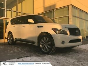 2012 Infiniti QX56 DVD/HEATED AND COOLED SEATS/NAVIGATION/BLIND