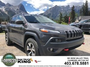 2016 Jeep Cherokee TRAILHAWK LEATHER COOLED SEATS FULL LOAD