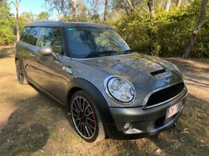 2010 Mini Clubman R55 John Cooper Works Wagon 3dr Man 6sp 1.6T Grey Manual Wagon Sheldon Brisbane South East Preview