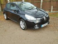Renault Clio 1.2 16v Dynamique 5dr (MediaNav)£6,745 p/x welcome 1 YEAR FREE WARRANTY. NEW MOT