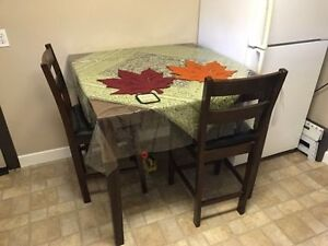 5 Piece Dining Table with 4 Chairs for 220$