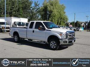 2015 FORD F-250 SUPER DUTY XLT EXT CAB LONG BOX 4X4 **LOW KM**