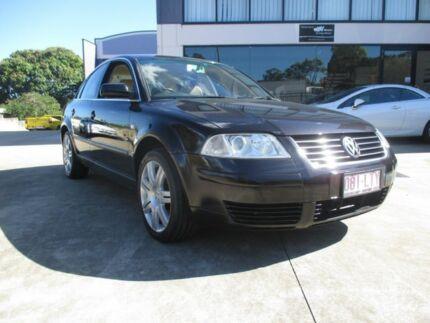 2002 Volkswagen Passat SE V5 Black Sedan