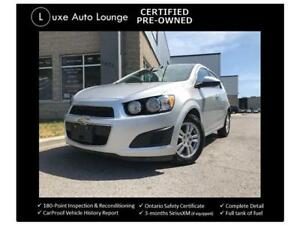 2015 Chevrolet Sonic LT - ONLY 27,000KM! AUTO, HEATED SEATS!