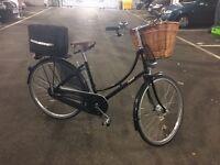 Ladies Bike - Pashley Princess Sovereign. Black. Very Good Condition