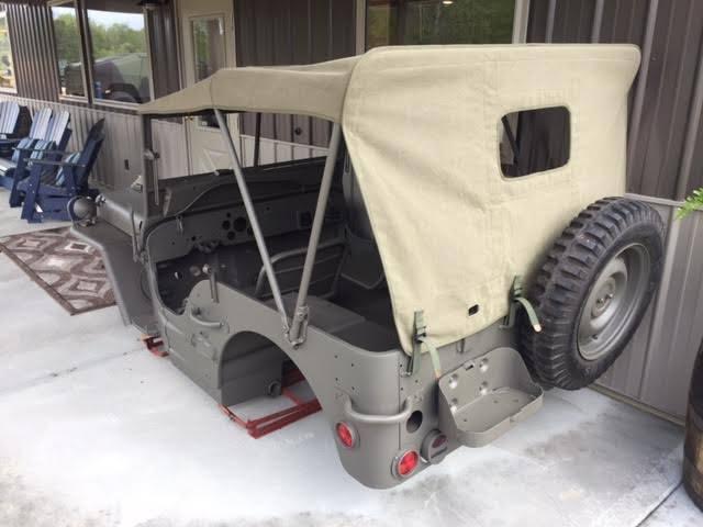 1949-1968 CJ3A CJ3B SEAT Frame Driver Left WILLYS JEEP  CSA002