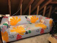 Klippan Two Seater sofa - brightly coloured