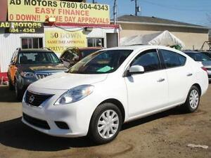 """ SALE THIS WEEK "" 2014 NISSAN VERSA AUTO LOAD 51K-100% FINANCE!"