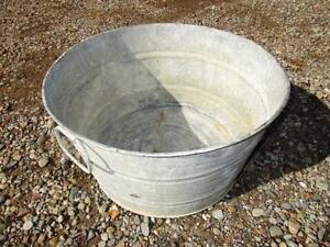 Galvanized Wash Tubs $35.00 each