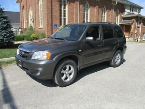 2006 Mazda Tribute GS - LOW Kms, NAVIGATION - CERTIFIED $4953