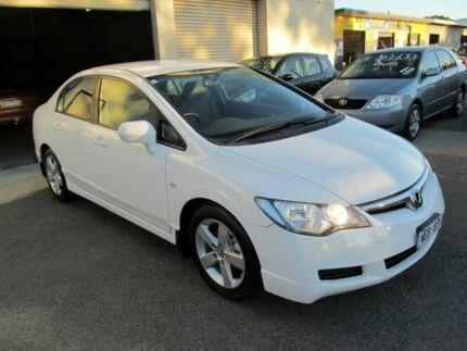 2007 Honda Civic MY07 VTi-L White 5 Speed Automatic Sedan Werribee Wyndham Area Preview