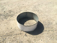 Ring for fire pit barbeque grill , bbq