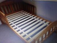 Mothercare toddler pine bed & mattress - Both in Great condition. Dismantled ready for collection