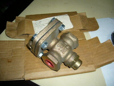 Pneumatic Bronze Flow Control Valve Cash Valve D53 250psi 12in Npt New
