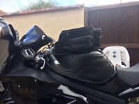 Triumph Sprint 1050 ST Tank cover and bag
