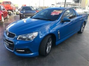 2015 Holden Ute VF MY15 SV6 Blue Sports Automatic Utility Lansvale Liverpool Area Preview