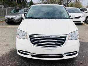 2013 Chrysler town &country touring model , 162 k kms, certified