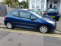 PEUGEOT 207 1.4 2006 LOW MILES ONLY 69K STARTS AND DRIVES GREAT BARGAIN £695!!!