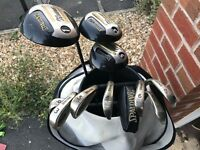 11 club set and bag for sale