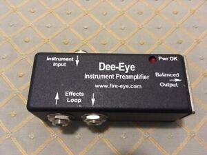 Brand new Red Eye preamp for Acoustic Instruments