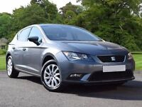 SEAT Leon 1.6 TDI SE (Tech Pack) 5dr (start/stop) (grey) 2015