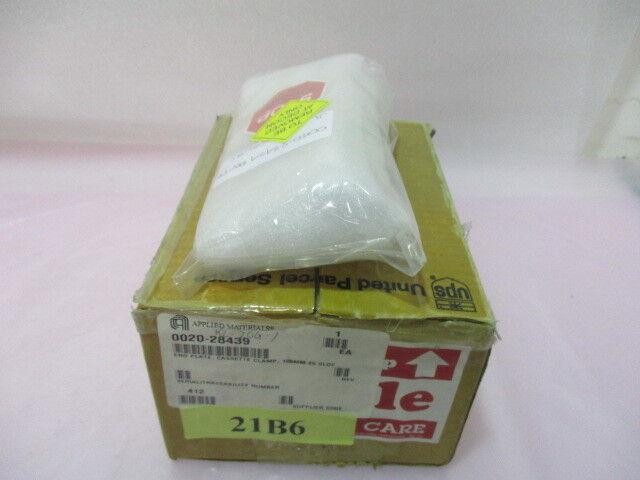 AMAT 0020-28439 End Plate, Cassette Clamp, 150mm 25 slot 417369