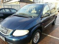 CHRYSLER GRAND VOYAGER 7 SEATER 12 MONTHS MOT CHROME ALLOYS LEATHER LIMITED EDITION