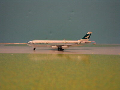 HERPA WINGS CATHAY PACIFIC A340-200 1:500 SCALE DIECAST METAL MODEL