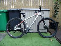 CARRERA HELLCAT HARDTAIL MOUNTAIN BIKE, BIKE NOW SOLD.