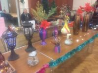 A Lot Of Christmas Decorations Lights Vases Pots Lamps Etc Only £100