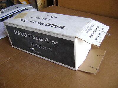 New Cooper Halo Power Trac L734 White Track Light L734px 75w 300w Trak