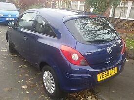 Vauxhall corsa 1.3 CDTI very low mileage £30 tax per year diesel 7 service stamps mot till Sep 2017