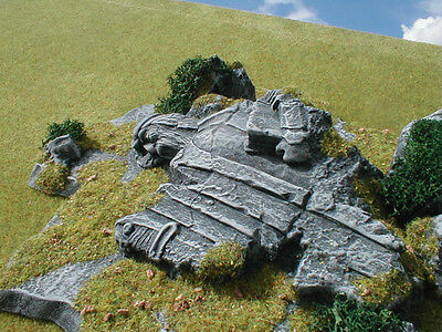 Ancient King Unpainted Ceramic Thomarillion Terrain Dwarven Forge D&D