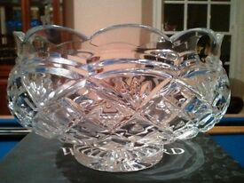"Waterford Crystal 8"" Footed Bowl, Brand New Boxed - Unwanted Present. Newry Co Down"
