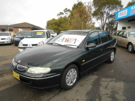 1997 Holden Commodore VT Acclaim Green 4 Speed Automatic Sedan Greenacre Bankstown Area Preview